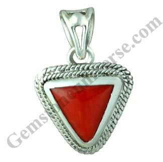 Natural Organic Untreated Red Coral of 4.72 carats Gemstoneuniverse.com