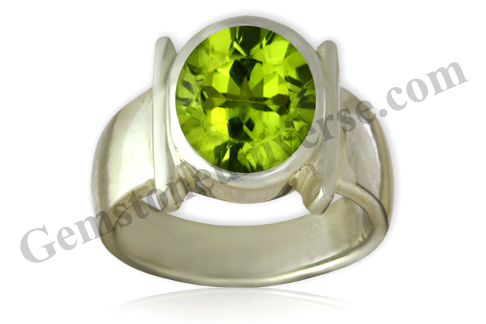 Natural Pakistan Peridot of 2.30 carats Gemstoneuniverse.com