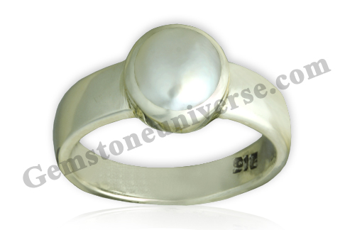 Natural Pearl of 2.89 carats Gemstoneuniverse.com. Undrilled Pearl with Radiography report.
