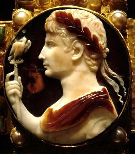 Picture of Augusts in Ancient Roman Cameo