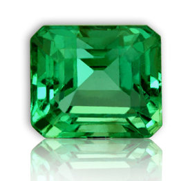 Zambian Emerald-Jyotish Quality Emerald having the true spectral Green color.