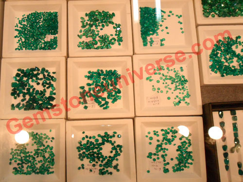 Free Size Colombian Emerald Lots. gemstoneuniverse