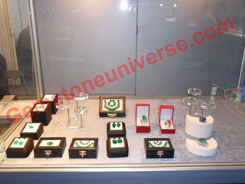 Display Tower 2 showcasing high value collectible rare pieces.Gemstoneuniverse.com