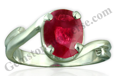 Natural Burma Ruby of 1.91 Carats Gemstoneuniverse.com