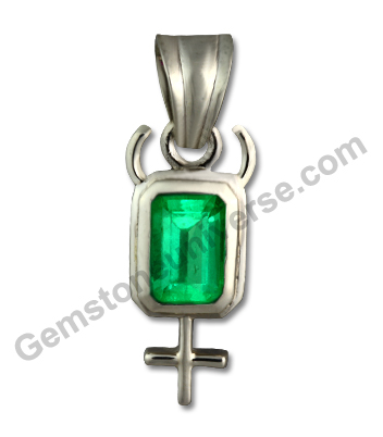 Natural Unenhanced Colombian Emerald 2.44 carats Gemstoneuniverse.com