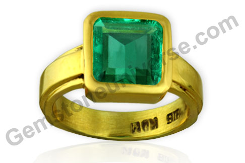Natural Unenhanced Colombian Emerald 2.60 carats Gemstoneuniverse.com