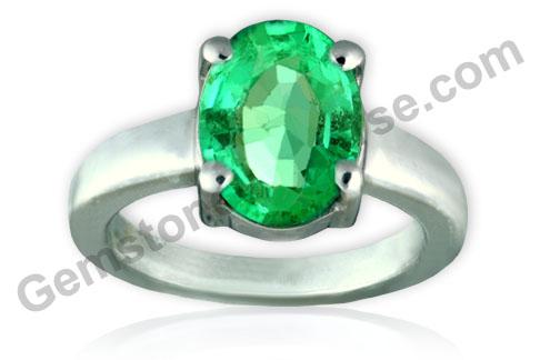 Natural Unenhanced Zambian Emerald 2.10 carats Gemstoneuniverse.com