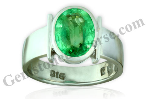 Natural Unenhanced Zambia Emerald 2.55 carats Gemstoneuniverse.com