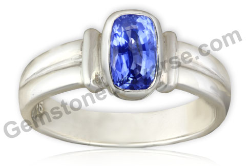 Natural Unheated Blue Sapphire of 2.30 Carats Gemstoneuniverse.com