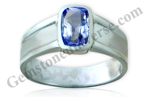 Natural Unheated Blue Sapphire of 2.48 Carats Gemstoneuniverse.com