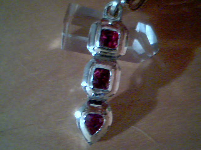 Sun talisman having unheated Winza Rubies handcrafted by a Gemstone Universe patron