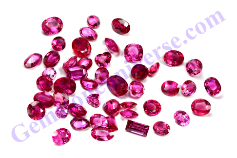 Unheated Natural Rubies with glorious luste for making Sun Talismans using a combination of Gems. Gemstoneuniverse.com