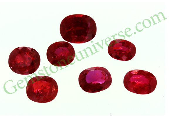 Vatomandry Mine Unheated Madagascar Ruby Gemstoneuniverse Lot Name Syamantaka1702. Notice the Deep Red Scarlet Color