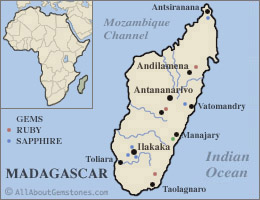 Madagascar Gem Mining Areas