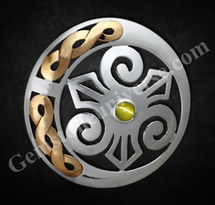 Cat's Eye Talisman of Limitless Wealth and Supreme Victory.Gemstoneuniverse