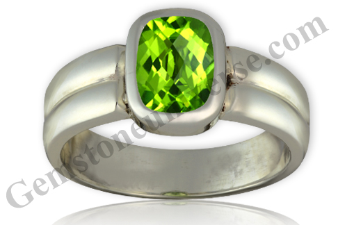 Natural China Peridot of 2.40 carats Gemstoneuniverse.com
