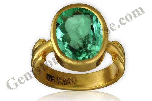 Natural and Unenhanced Colombian Emerald 2.88 carats Gemstoneuniverse.com