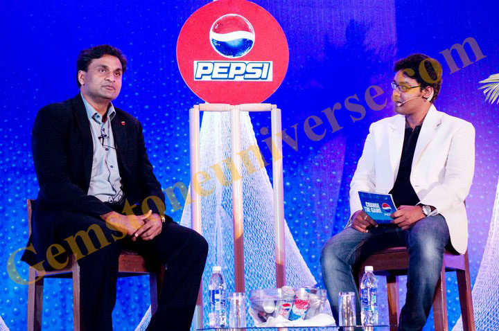 Rahul Kapoor interviewing former Indian Pace bowler -Javagal Srinath