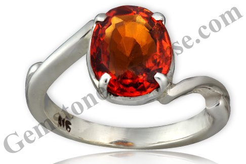 Natural and Untreated Hessonite 3.93 carats Gemstoneuniverse.com