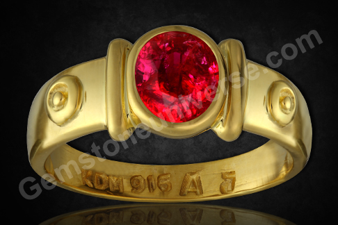 Natural and untreated Mozambique Ruby of 1.72 Carats Gemstoneuniverse.com