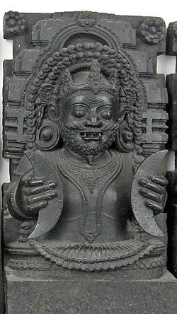The Rahu statue kept at the British museum