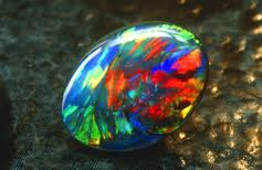 A fine Opal Specimen exhibiting the play of color