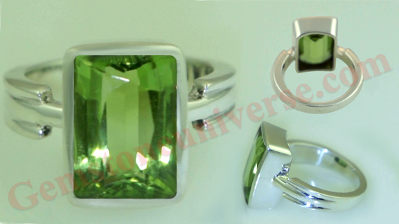 Burma Peridot of 4.90 carats Uparatna for Mercury