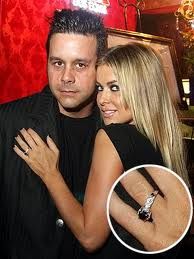 Carmen Electra and her flair for adventure-Carrying off A Black Diamond ring in style