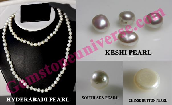 Guard yourself against Useless Fake Pearls for Jyotish Gemstone Therapy-Don't deceive yourself. Keshi Pearls, South Sea Pearls & Chinese Pearl are cultured and Non Natural Pearls.