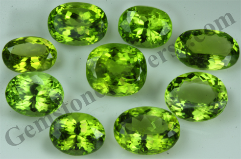 Peridot Lot-Natural Eye Clean Peridot Pakistan-Superior Emerald Alternative-Gemstoneuniverse.com