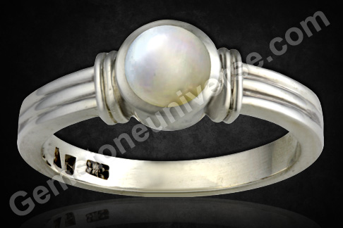 Astrological Gem Natural Pearl Gem of Moon in Vedic Astrology Gem Therapy