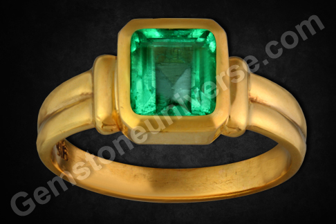 Natural Emerald gemstone of 2.04 carats (Zambian)Gemstoneuniverse.com