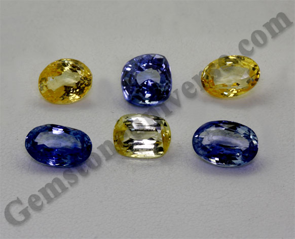 Jyotish Quality-Entry Level Mixed Sapphires Lot-Vijay2011