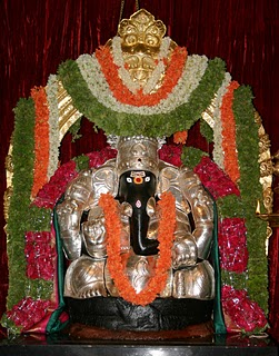 Lord Ganesha as Varada Vinayaka Swami in the Gemstoneuiniverse Astro Journey Temple
