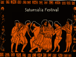 Saturnalia was a festival that was celebrated in ancient Rome to honour Saturn, the youngest of the Titans. Initially, the festival was celebrated for just a day. But such was its popularity that it was eventually held for a week's time.