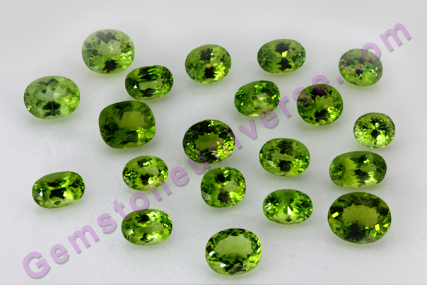 Gemstoneuniverse Peridot Lot Himalayan Glory. Abundant Mercury Powers
