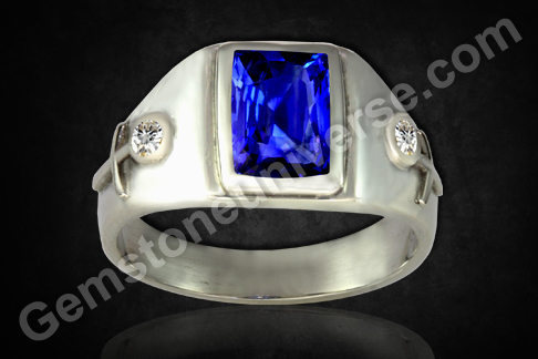 Neelam Unheated Blue Sapphire of 4.11 carats for Saturn Energies