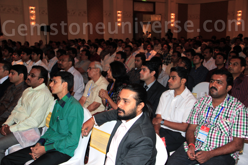 Section of the Audience with Gemstoneuniverse Delegates