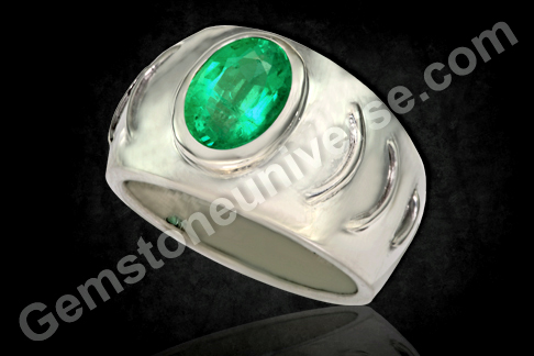 Zambian Emerald of 1.95 carats for Vedic Mercury energies