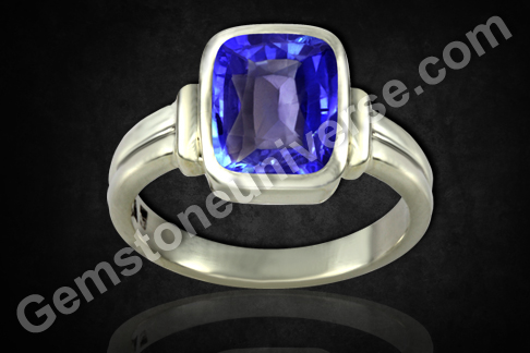 Vedic Gemstone Ring for Saturn, Neelam Shani Gem