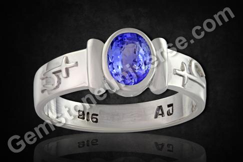 Natural Blue Sapphire of 2.06 carats Gemstoneuniverse