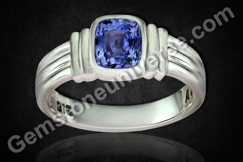 Natural Blue Sapphire of 2.25 carats Gemstoneuniverse