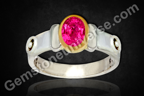 Natural Ruby of 1.01Carats (Unheated Mozambique) Gemstoneuniverse