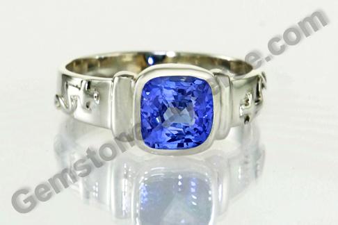Natural Blue Sapphire of 2.38 carats Gemstoneuniverse