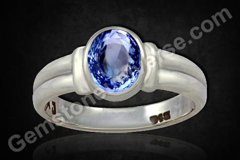Natural Blue Sapphire of 3.51carats Gemstoneuniverse
