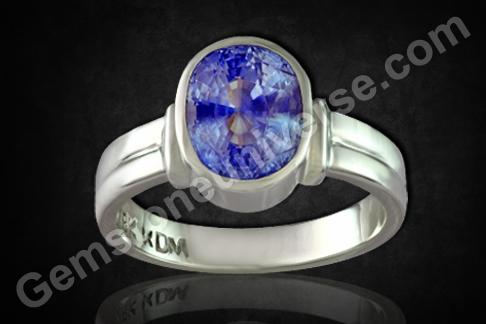 Natural Blue Sapphire of 4.88carats Gemstoneuniverse