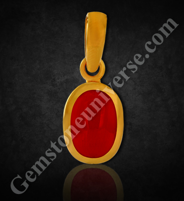 Natural Organic Red Coral of 6.24carats Gemstoneuniverse.com