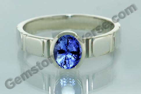 Natural Blue Sapphire of 2.57 carats Gemstoneuniverse