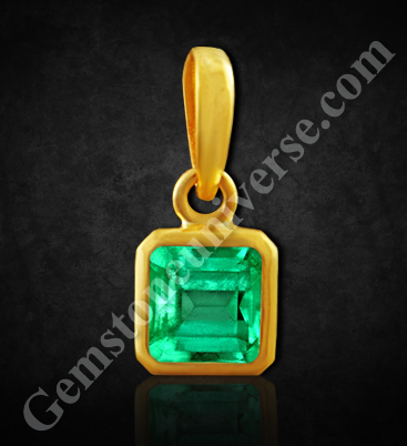 Natural Colombian Emerald of 1.87carats Gemstoneuniverse.com