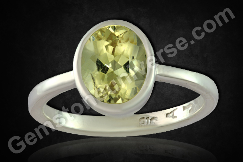Natural Heliodor of 2.39 carats Gemstoneuniverse.com